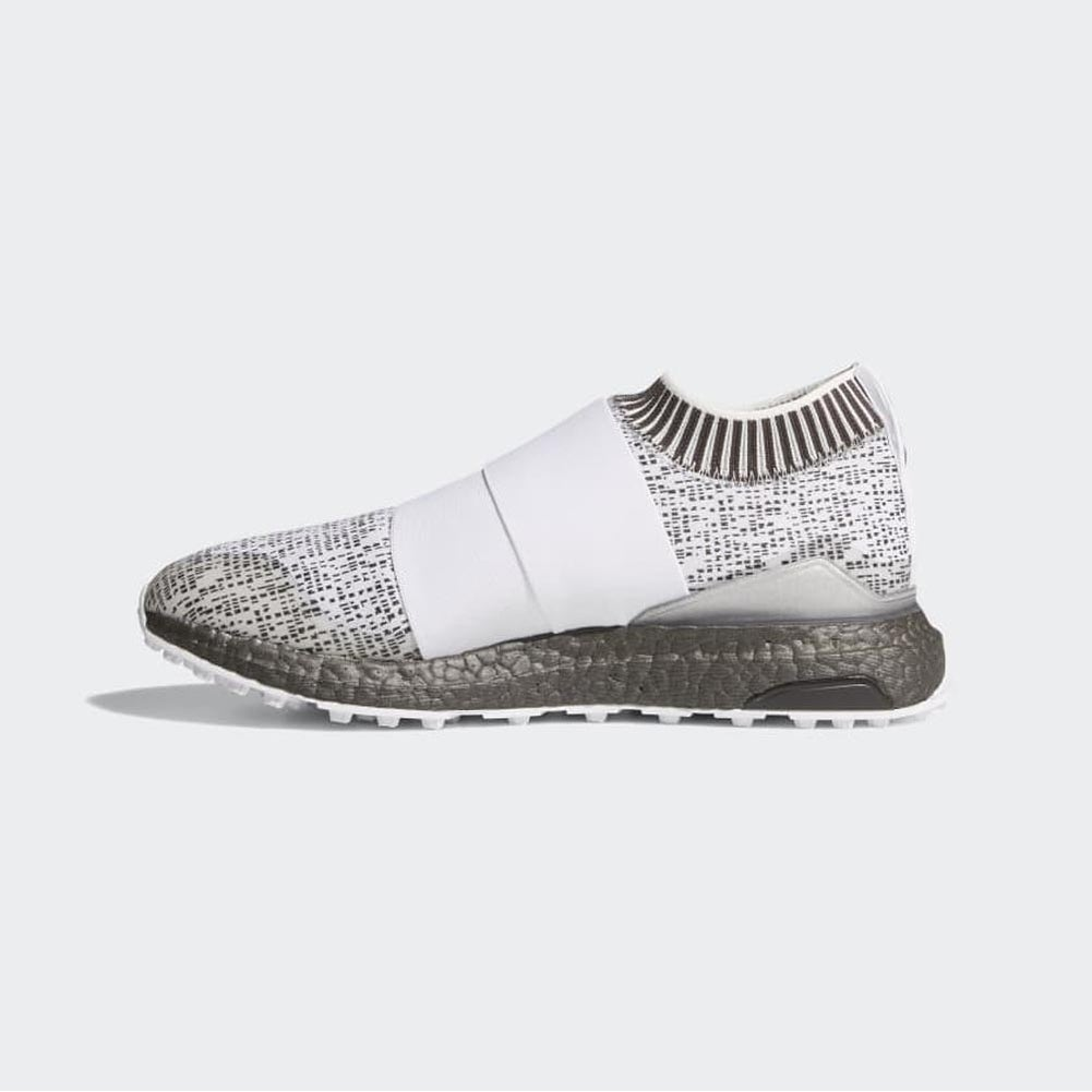detailed look bb1b0 fbd24 Shop New Mens Adidas Crossknit 2.0 Cloud WhiteCloud WhiteBoost Trace  Grey Golf Shoes F33735 - Free Shipping Today - Overstock - 26233114