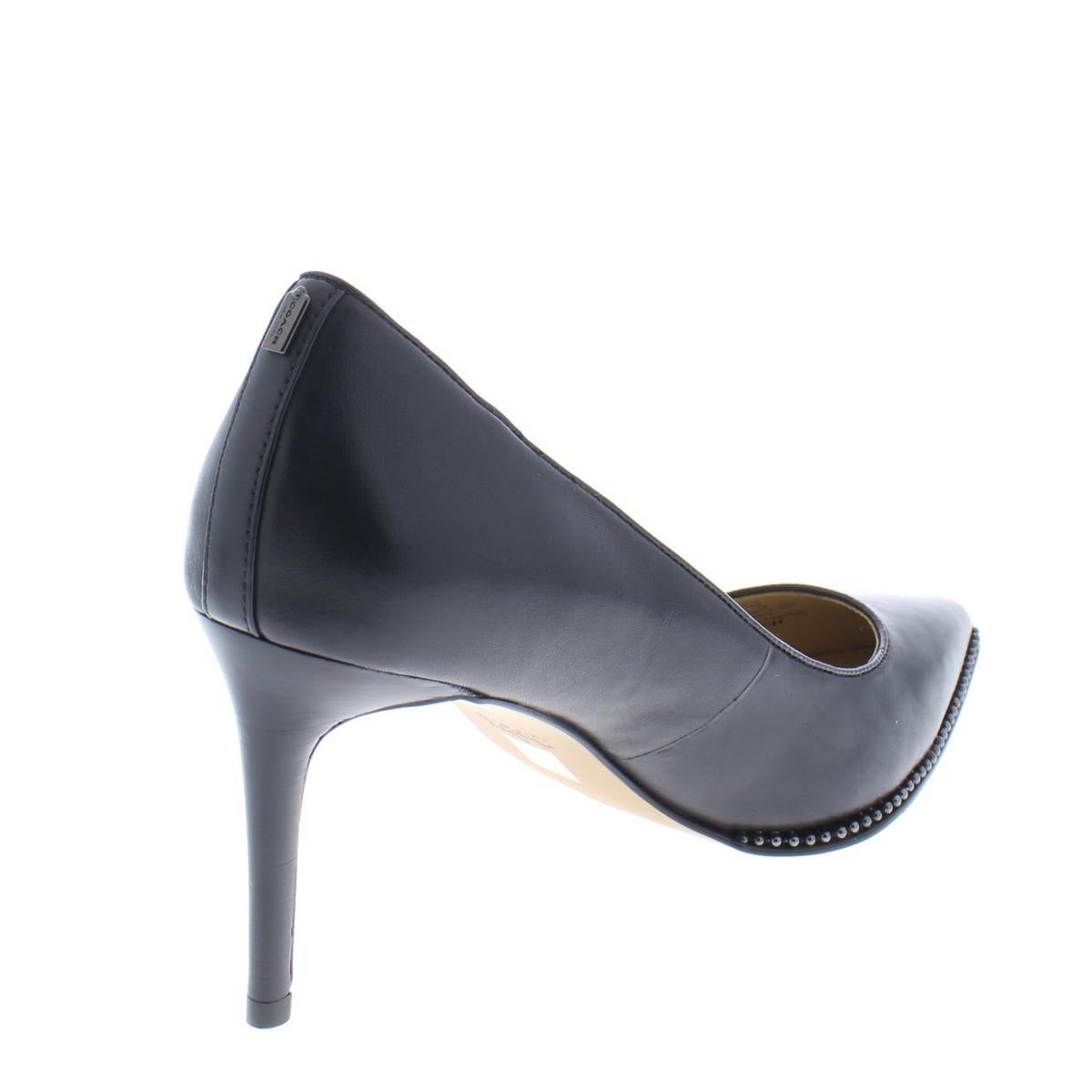 94e36293bce0 Shop Coach Womens Vonna Dress Heels Leather Pointed Toe - Free Shipping  Today - Overstock.com - 21480674