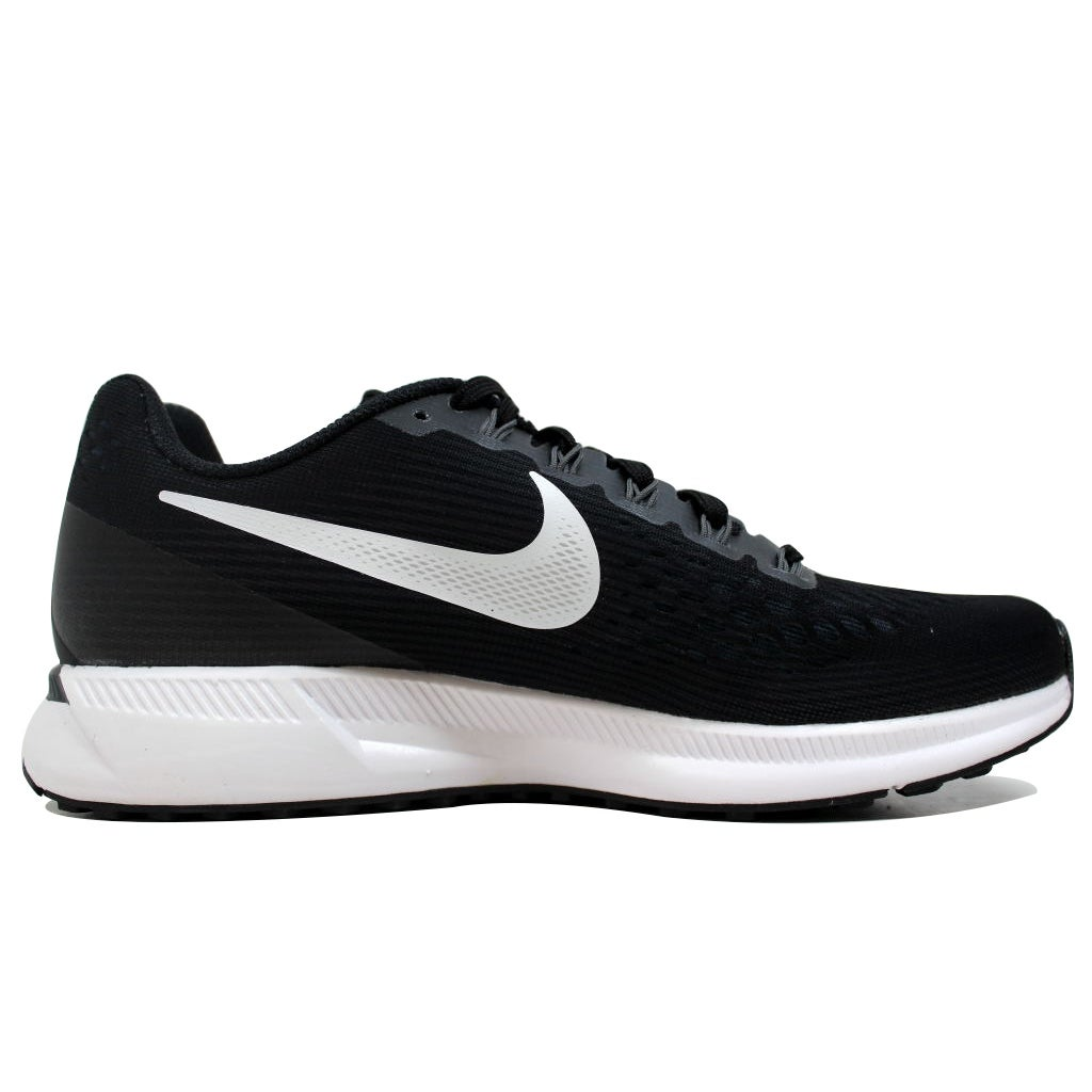 75df2f49440d Shop Nike Women s Air Zoom Pegasus 34 Black White-Dark Grey 880560-001 -  Free Shipping Today - Overstock - 20131460