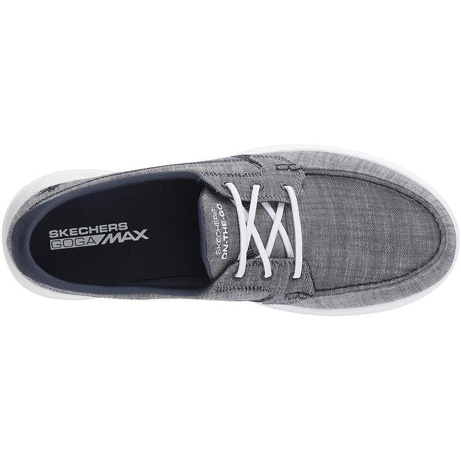 cc876cba2f74a Shop Skechers Performance Womens Go Walk Lite-15433 Boat Shoe, Navy - Free  Shipping Today - Overstock - 25609977