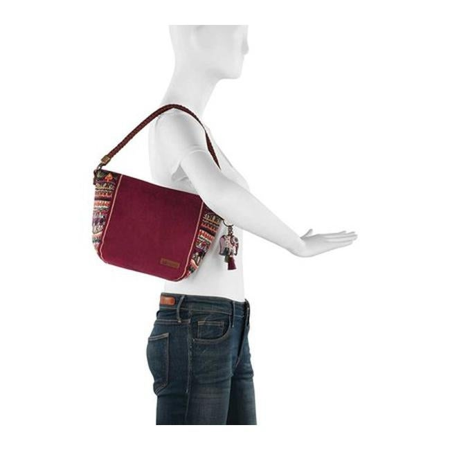 Shop Sakroots Women s Elsa Small Hobo Mulberry One World - US Women s One  Size (Size None) - On Sale - Free Shipping Today - Overstock.com - 25668337 e580363fe9a30