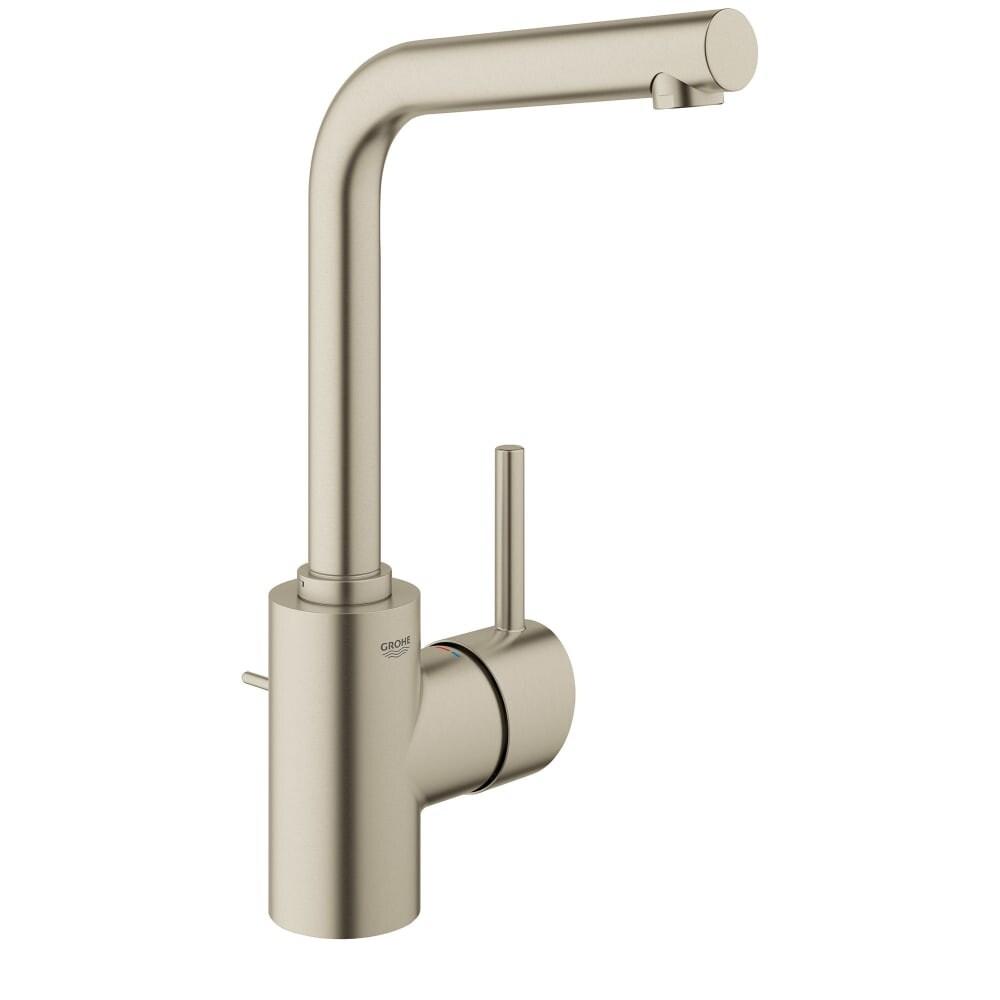 Shop Grohe 23 737 Concetto 1.2 GPM Single Hole Swivel Spout Bathroom ...