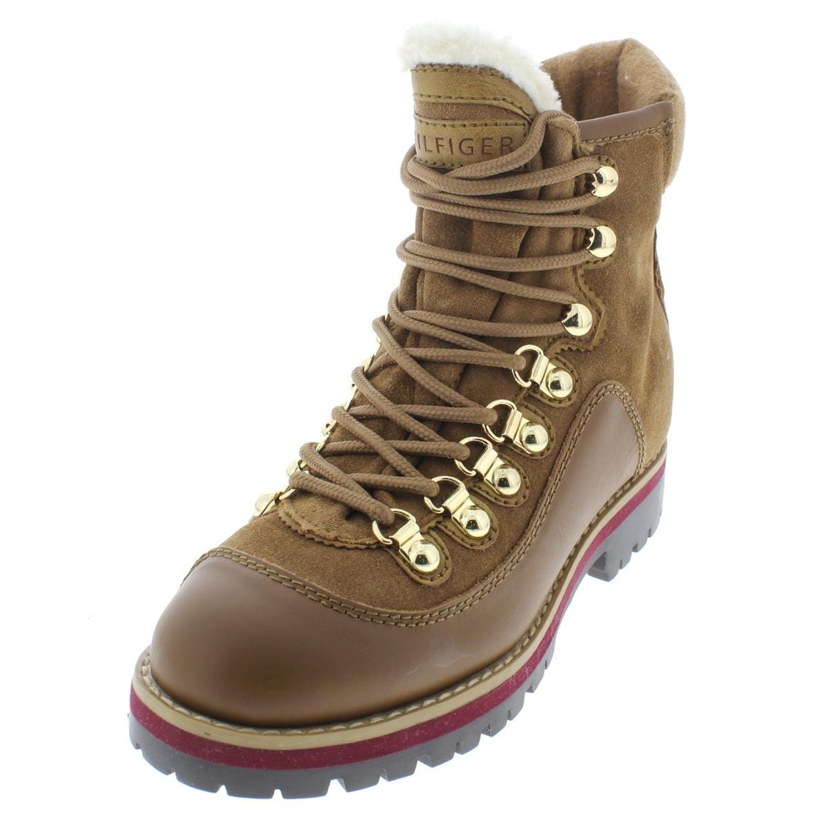 7e613ddd8 Shop tommy hilfiger womens tonny ankle boots suede hiking free shipping  today jpg 1200x1200 Tommy toppers