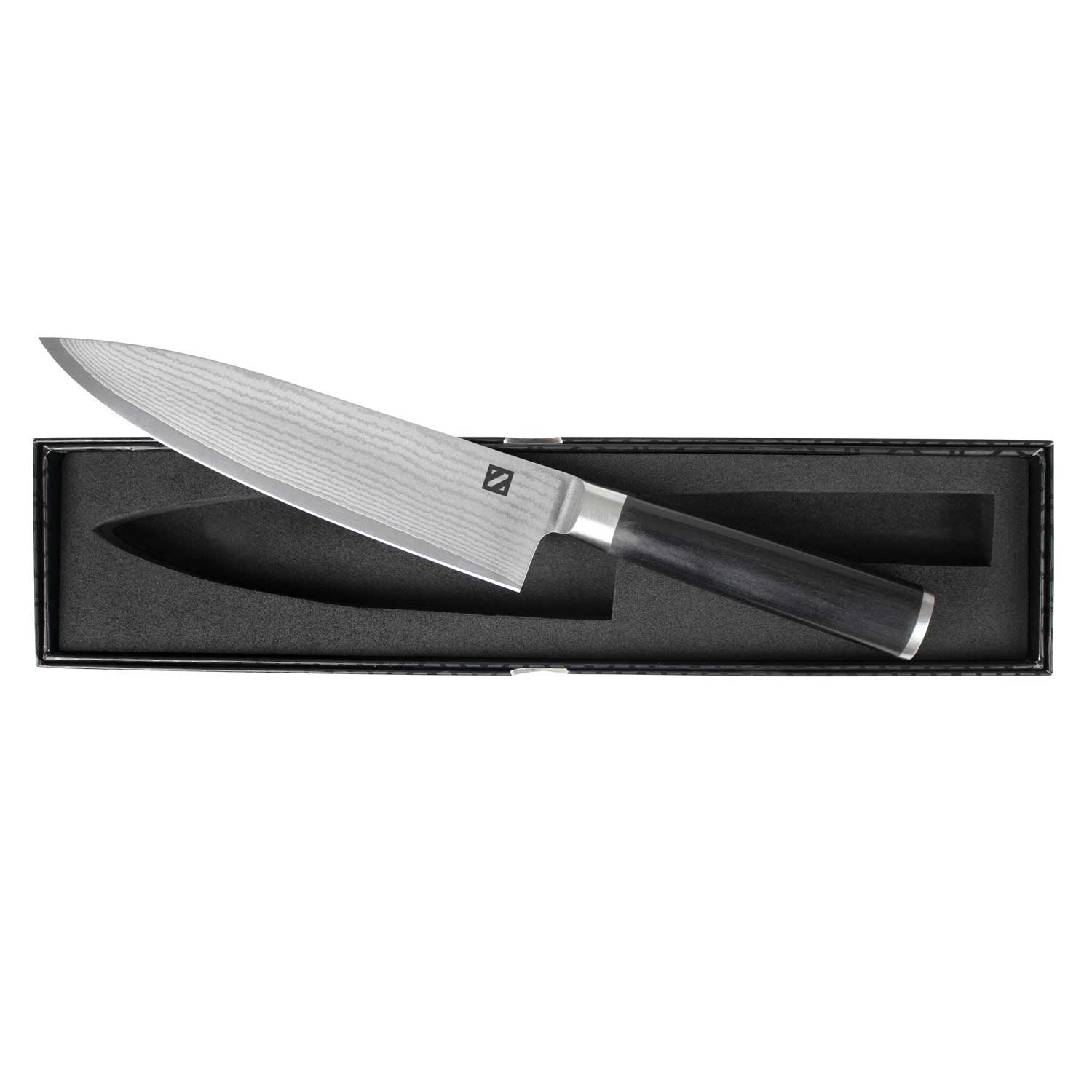 Shop Japanese Chef Knife with VG-10 Core and 67 Layer Damascus Steel ...