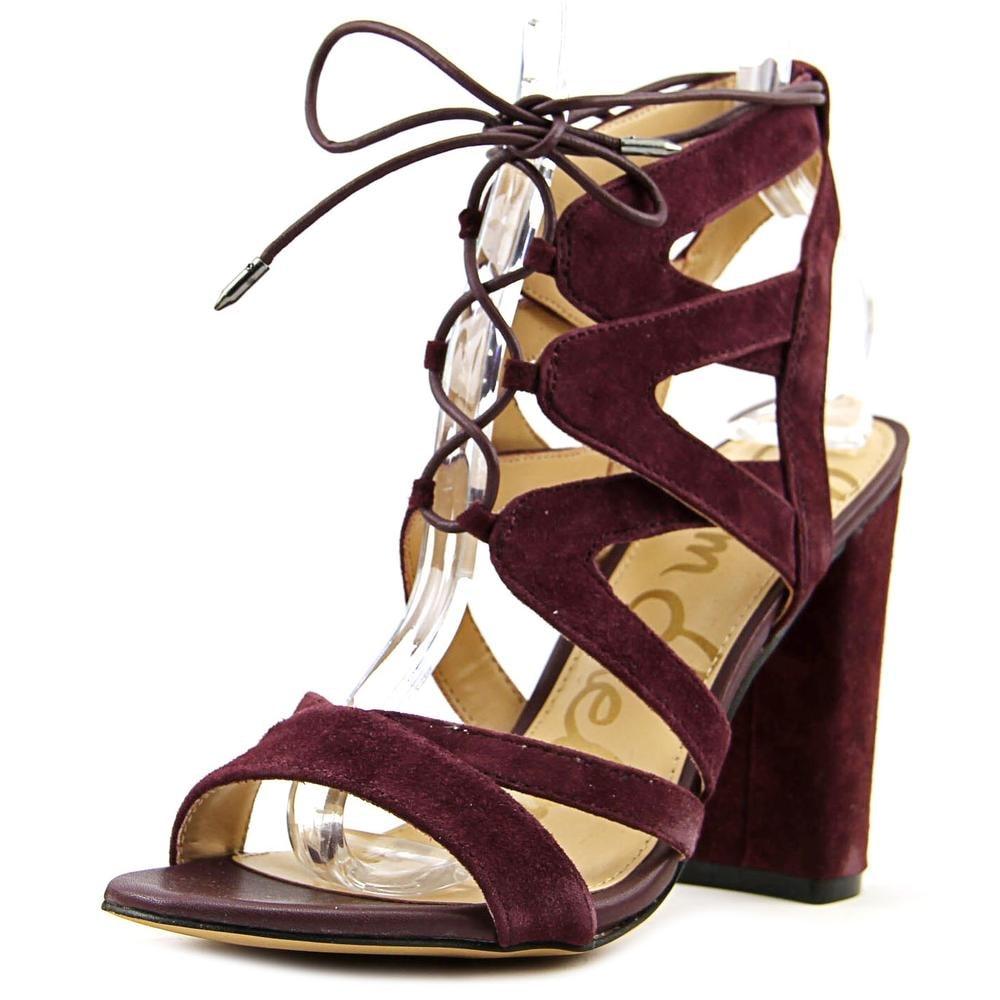 75bf44e7b02c Shop Sam Edelman Yardley Wine Sandals - Free Shipping Today - Overstock -  17981735
