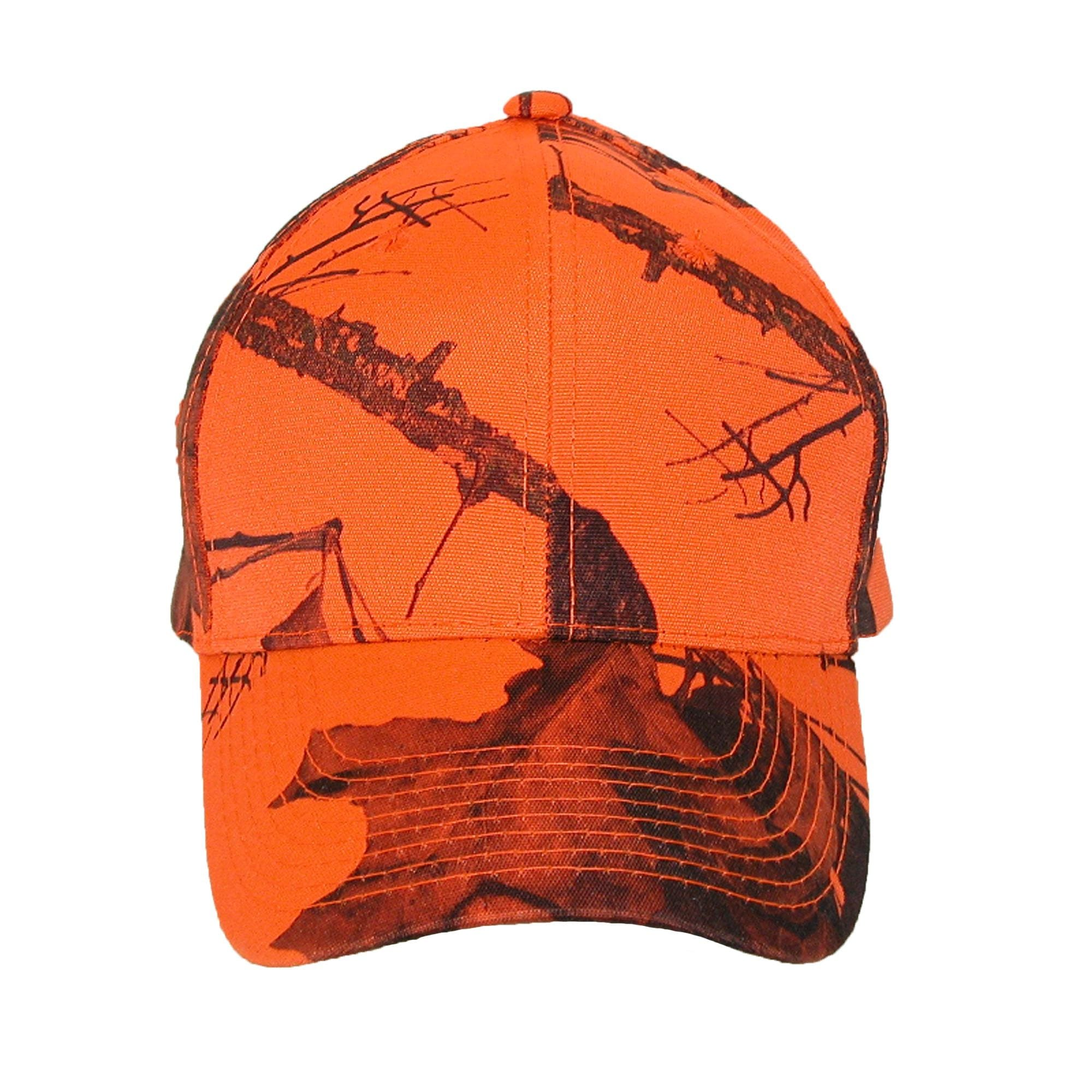 b1521402e Shop CTM® Men's Mossy Oak Break Up Blaze Orange Baseball Hat - Free  Shipping On Orders Over $45 - Overstock - 14281743