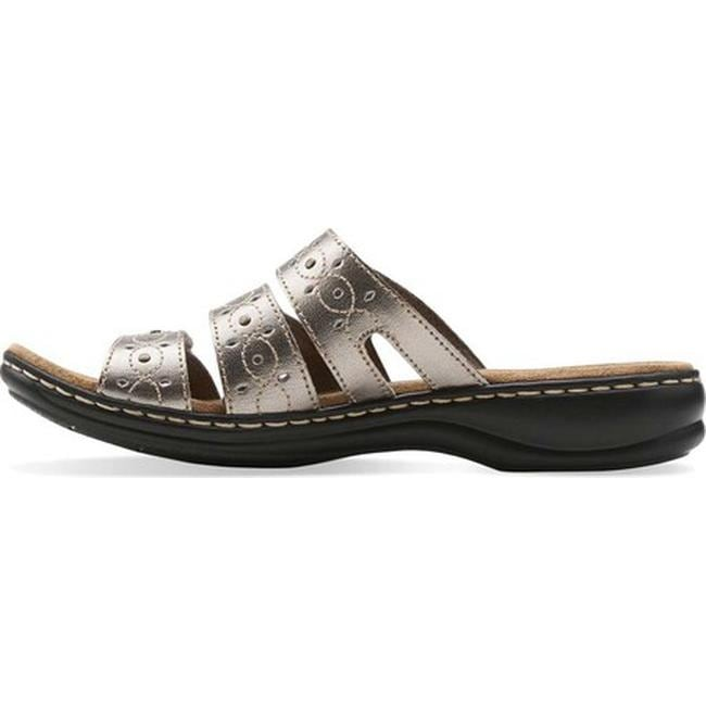 64397d40c543 Shop Clarks Women s Leisa Cacti Pewter Leather - On Sale - Free Shipping  Today - Overstock - 10284054
