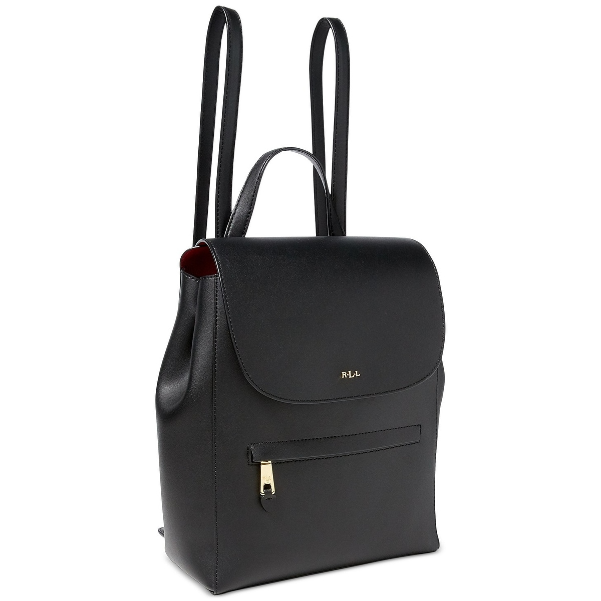 57bf7472bd1fa Shop Lauren Ralph Lauren Dryden Ellen Backpack - Black - Free Shipping  Today - Overstock - 21160634