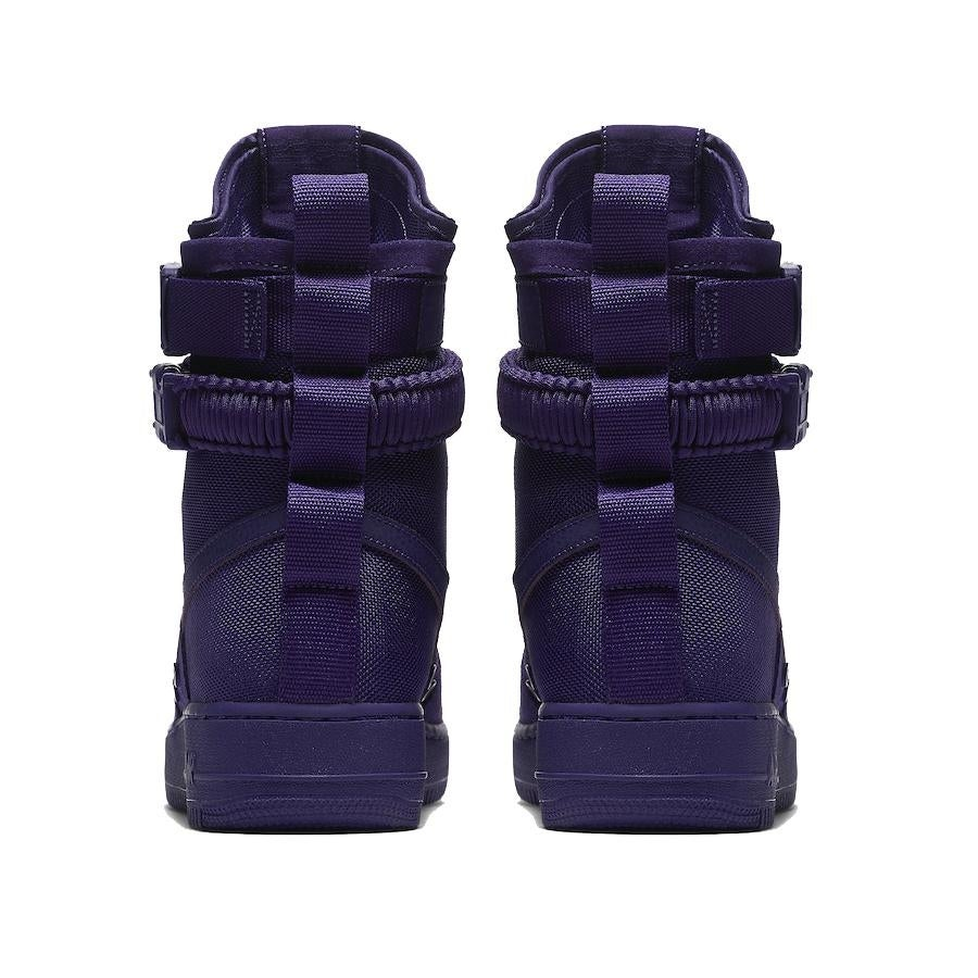 6ef878cddefd50 Shop Mens Nike SF Air Force 1 Court Purple (864024 500) - Free Shipping  Today - Overstock - 25558537