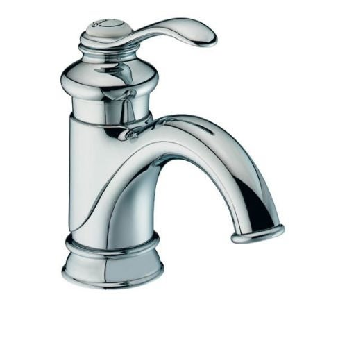 Shop Kohler K Fairfax Single Hole Bathroom Faucet Free Metal - Kohler fairfax single hole bathroom faucet