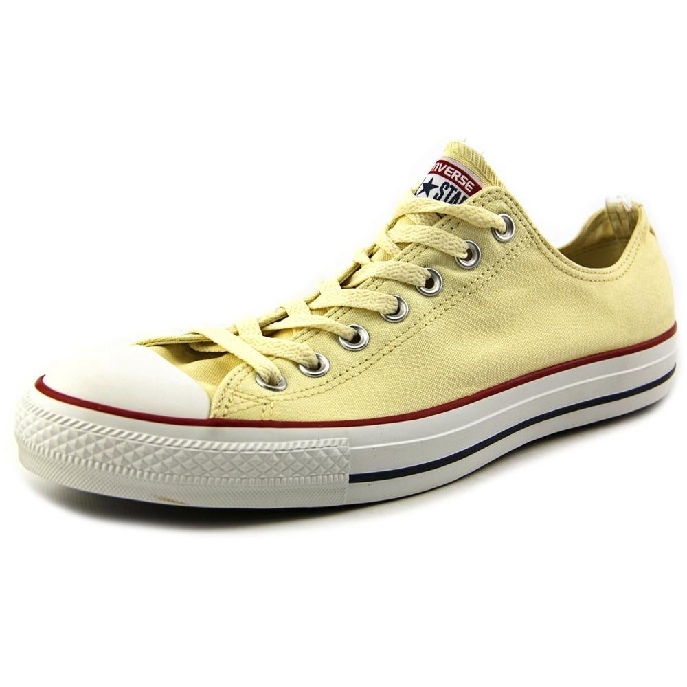 8f4028230b3 Shop Converse Chuck Taylor All Star Ox Men Round Toe Canvas Ivory Sneakers  - Free Shipping Today - Overstock - 19533592