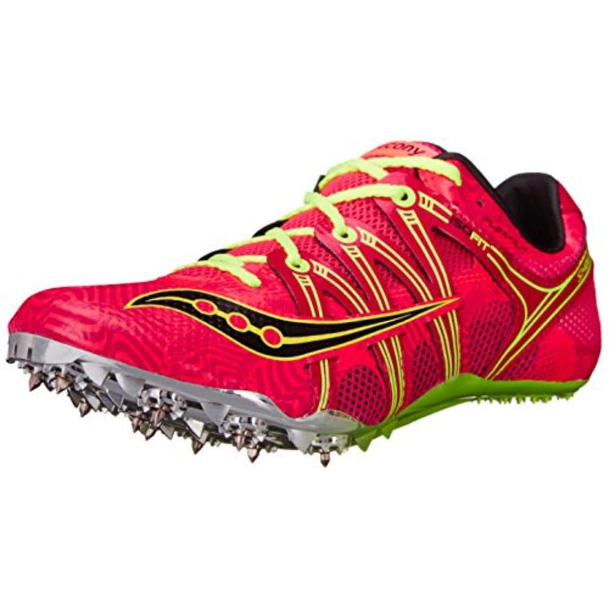 65c383f0f8 Saucony Womens Showdown Running Shoes Track Spikes