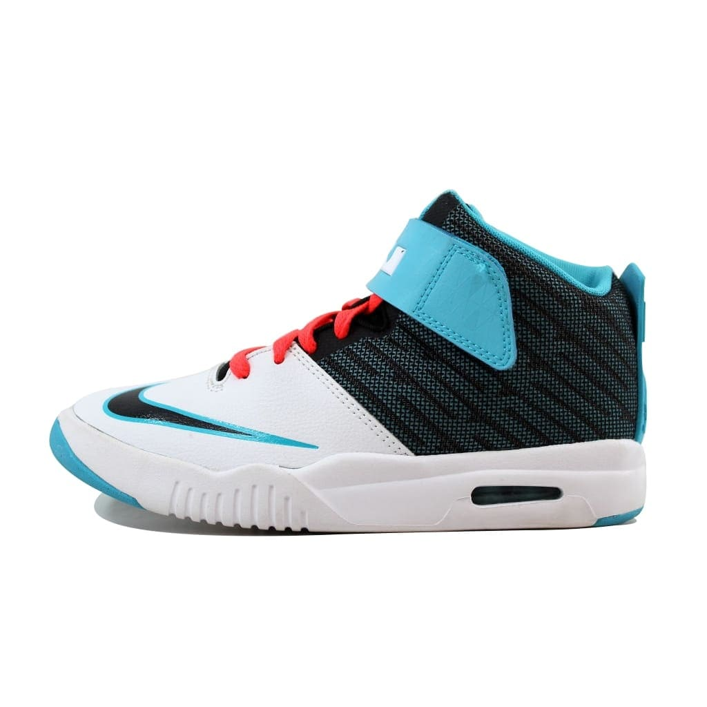 ad778ff96edc Shop Nike Grade-School Air Akronite White Bright Blue-Bright Crimson 819832-102  - Free Shipping On Orders Over  45 - Overstock - 19507614