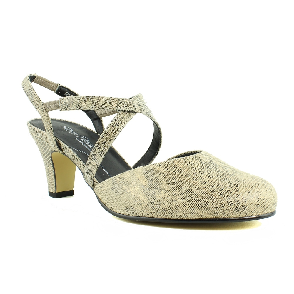 9320cadeb5 Shop Rose Petals Womens R-10316 Taupe Slingbacks Size 9 - Free Shipping On  Orders Over $45 - Overstock - 23124709