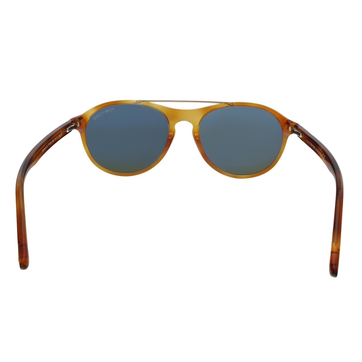 d5901dc9dec9f Shop Tom Ford FT0556 53N Cameron Blonde Havana Aviator Sunglasses - No Size  - On Sale - Free Shipping Today - Overstock - 25483886
