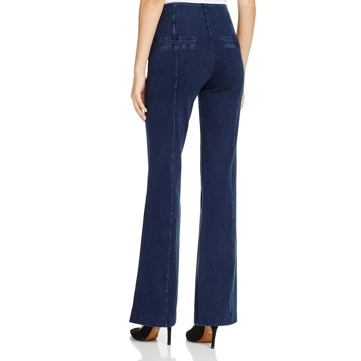 5c87046fdef Shop Lysse Womens Trouser Jeans Denim High Rise - Free Shipping On Orders  Over  45 - Overstock - 22490727