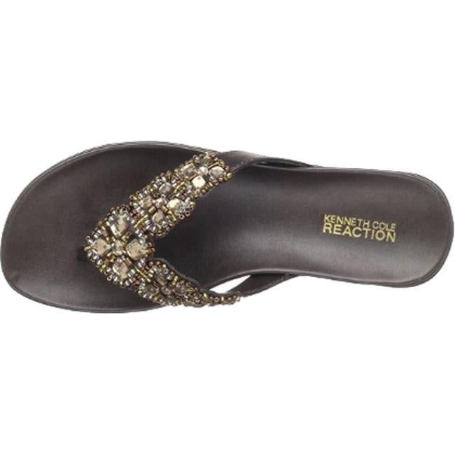 33e2771041400e Shop Kenneth Cole Reaction Women s Glam-Athon Sandal Bark Metallic - Free  Shipping On Orders Over  45 - Overstock - 11791094