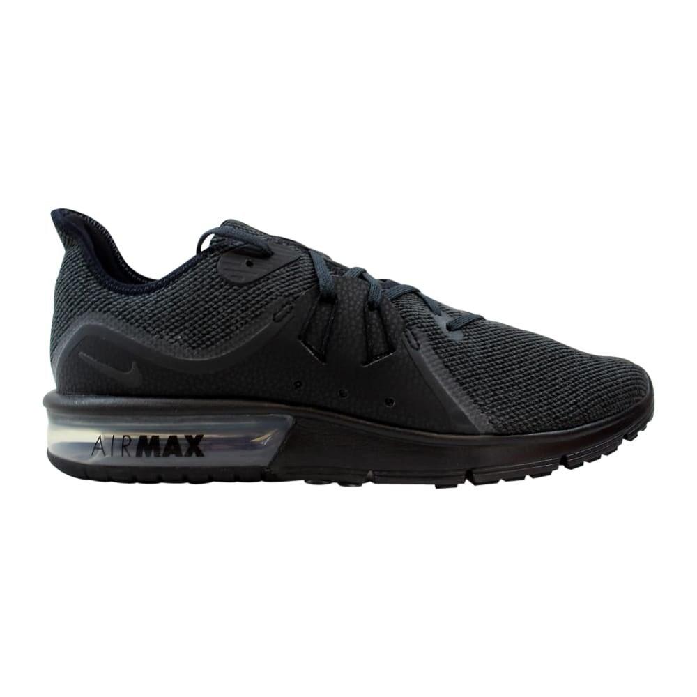 f36d181b9e8 Shop Nike Air Max Sequent 3 Black Anthracite 921694-010 Men s - Free ...