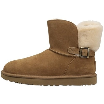 504496d978c Ugg Womens Karel Leather Closed Toe Mid-Calf Fashion Boots
