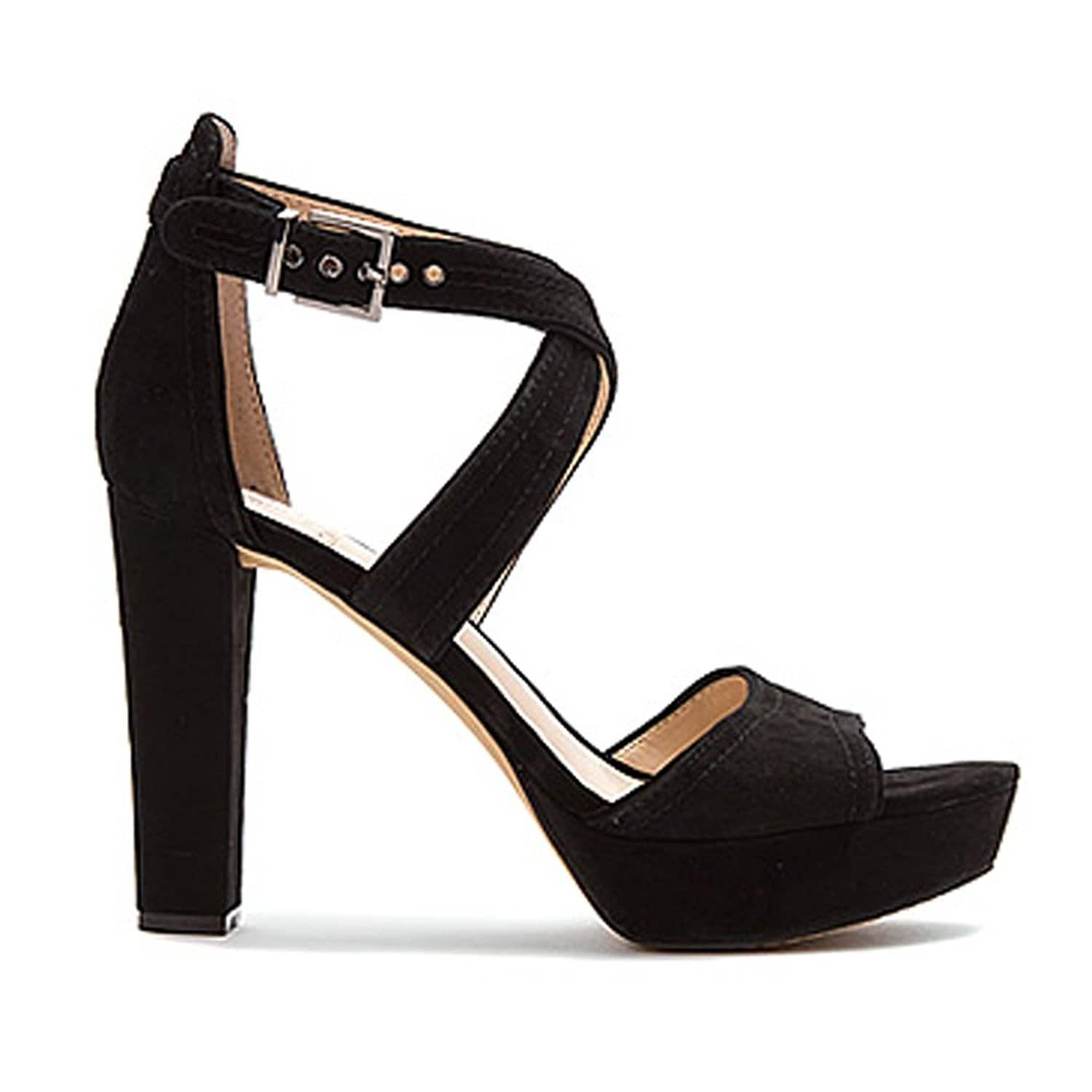 54a80f376ef Shop Vince Camuto Womens Shayla Leather Open Toe Special Occasion Platform  Sandals - Free Shipping Today - Overstock - 15287492