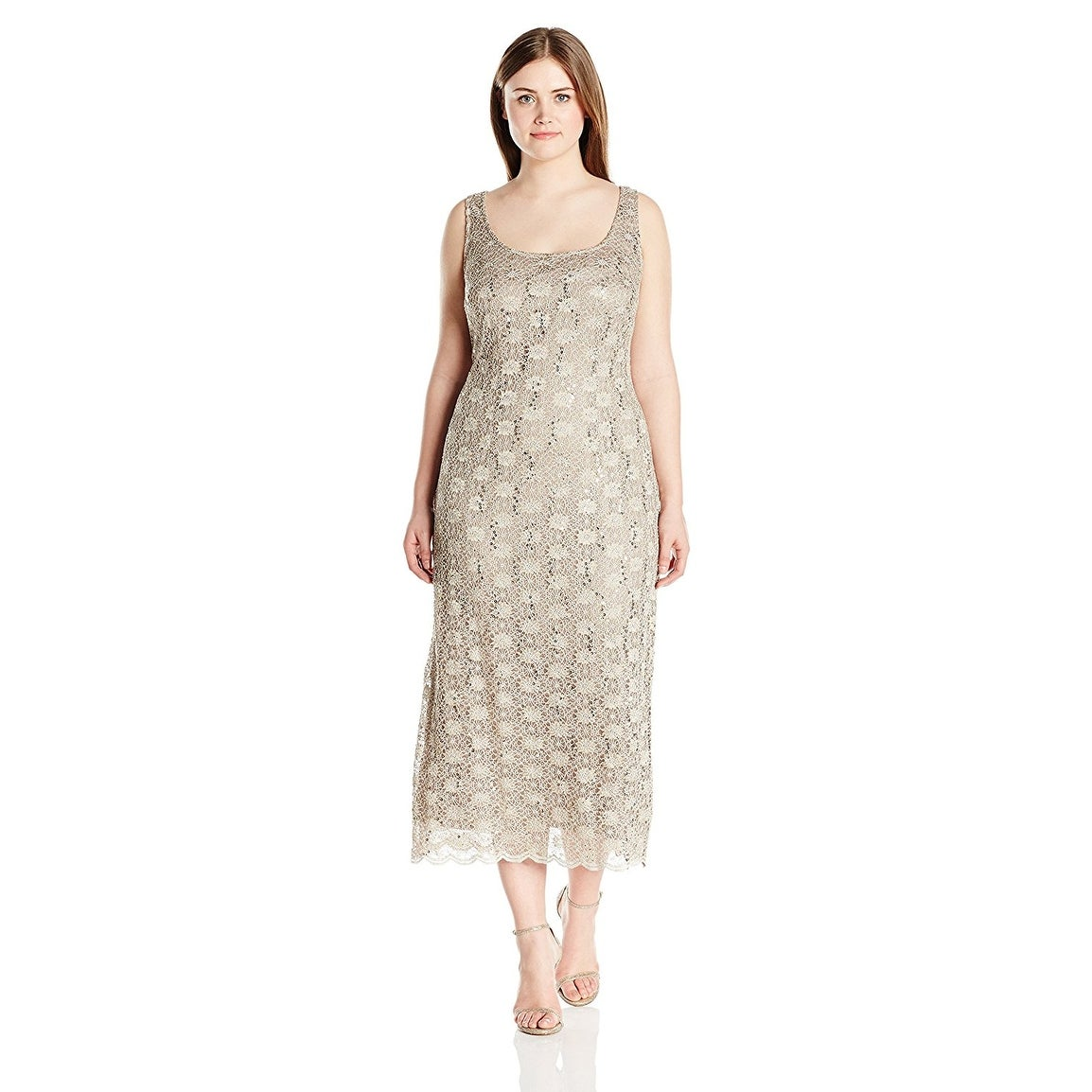 a7aa5c2ab5c Shop R M Richards Plus Size Lace Dress and Jacket Set - 20W - Free Shipping  Today - Overstock.com - 20537090