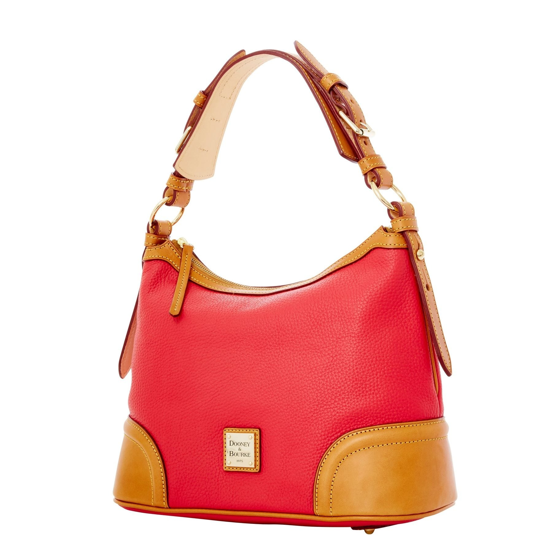 2a2ef61f0 Shop Dooney & Bourke Pebble Grain Hobo Shoulder Bag (Introduced by Dooney &  Bourke in Jun 2012) - Free Shipping Today - Overstock - 13318521