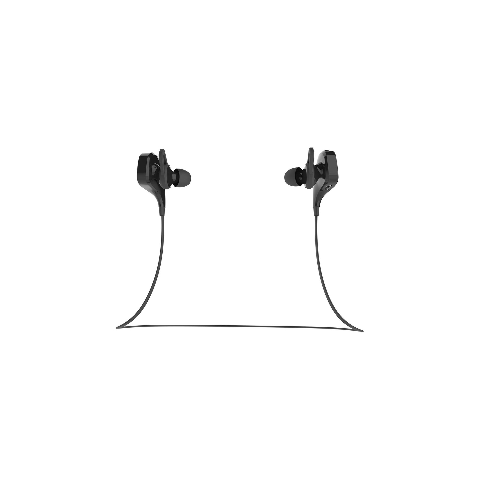 e49948203de Shop BEM Wireless Active Earbuds Wireless Bluetooth - Black - 4 x 4 x 1 -  Free Shipping On Orders Over $45 - Overstock.com - 18816591