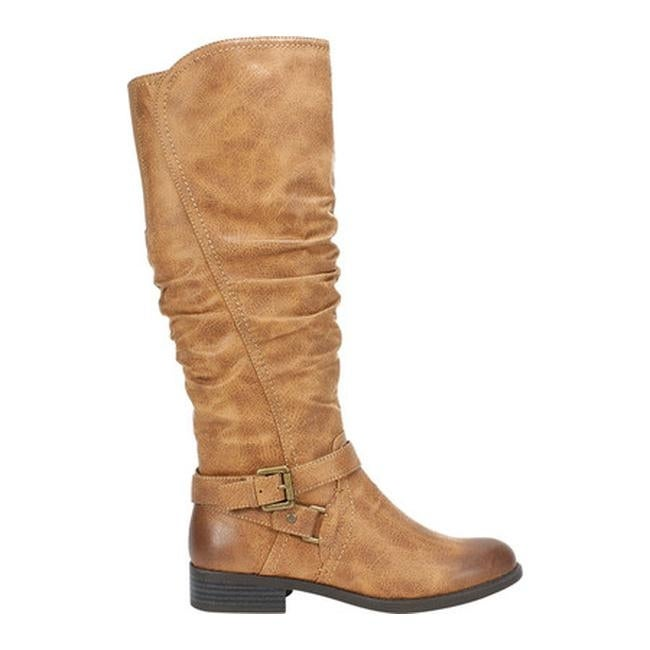 ca8d324fb436 Shop White Mountain Women s Layton Tall Boot Natural Suedette Fabric - On  Sale - Free Shipping Today - Overstock - 25559299