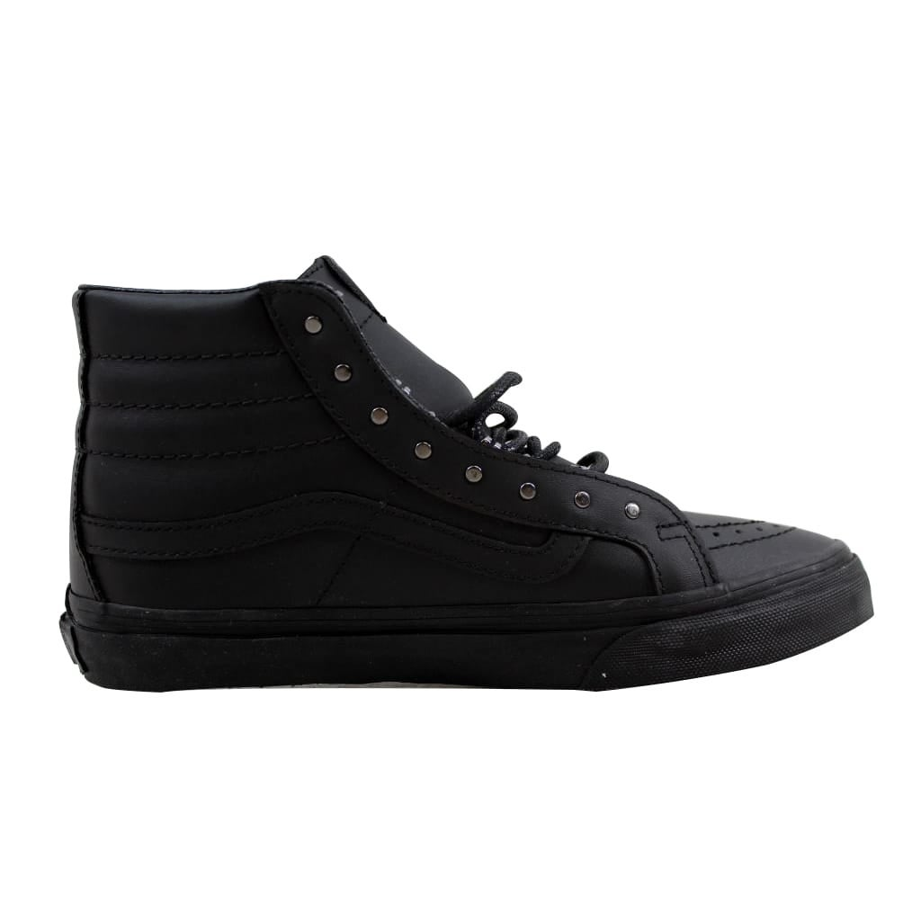 4e5e3e5144dc12 Shop Vans SK8 Hi Slim Gunmetal Black Rivet VN00018IJV1 Men s - Free  Shipping Today - Overstock - 21893323
