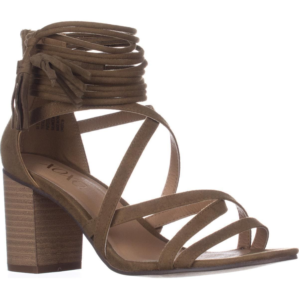 c81fb5dda Shop XOXO Elle Block-Heel Ankle-Strap Sandals