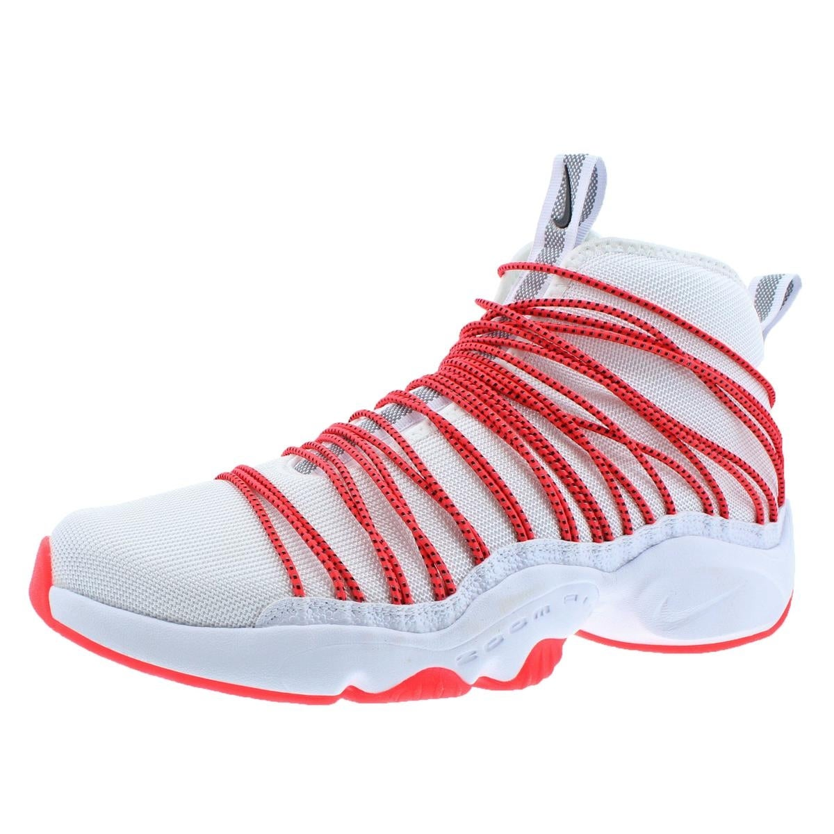 the latest 04b25 94f46 ... ireland shop nike mens zoom cabos basketball shoes high top bungee lace  free shipping today overstock