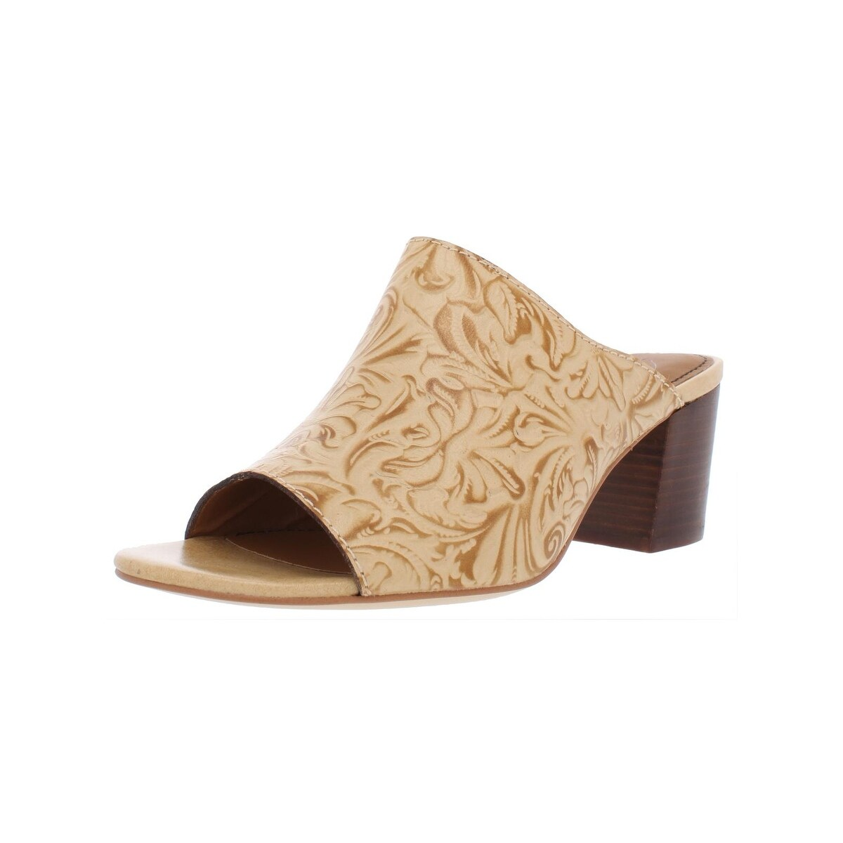 2ca3807d365 Shop Patricia Nash Womens Shelli Dress Sandals Leather Stacked Heel - Free  Shipping Today - Overstock - 27699435