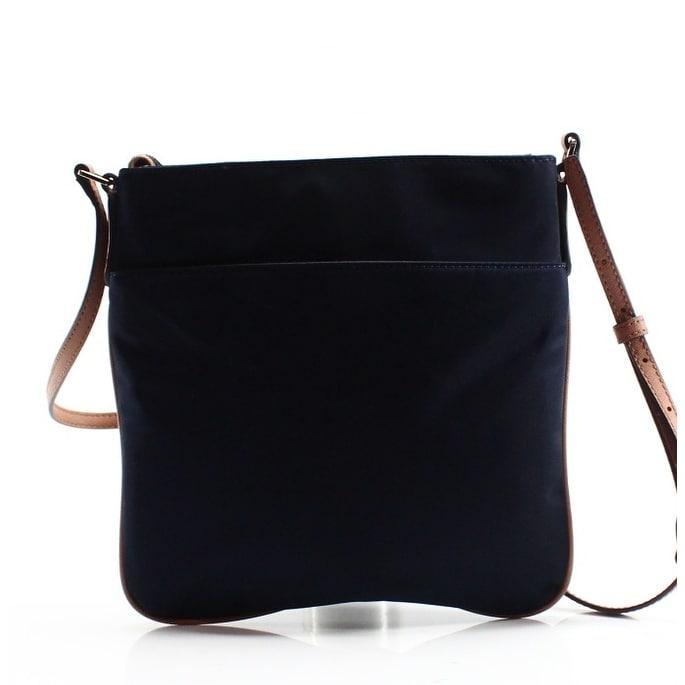 28062d149648 Shop Michael Kors NEW Admiral Blue Nylon Kelsey Large Crossbody Bag ...