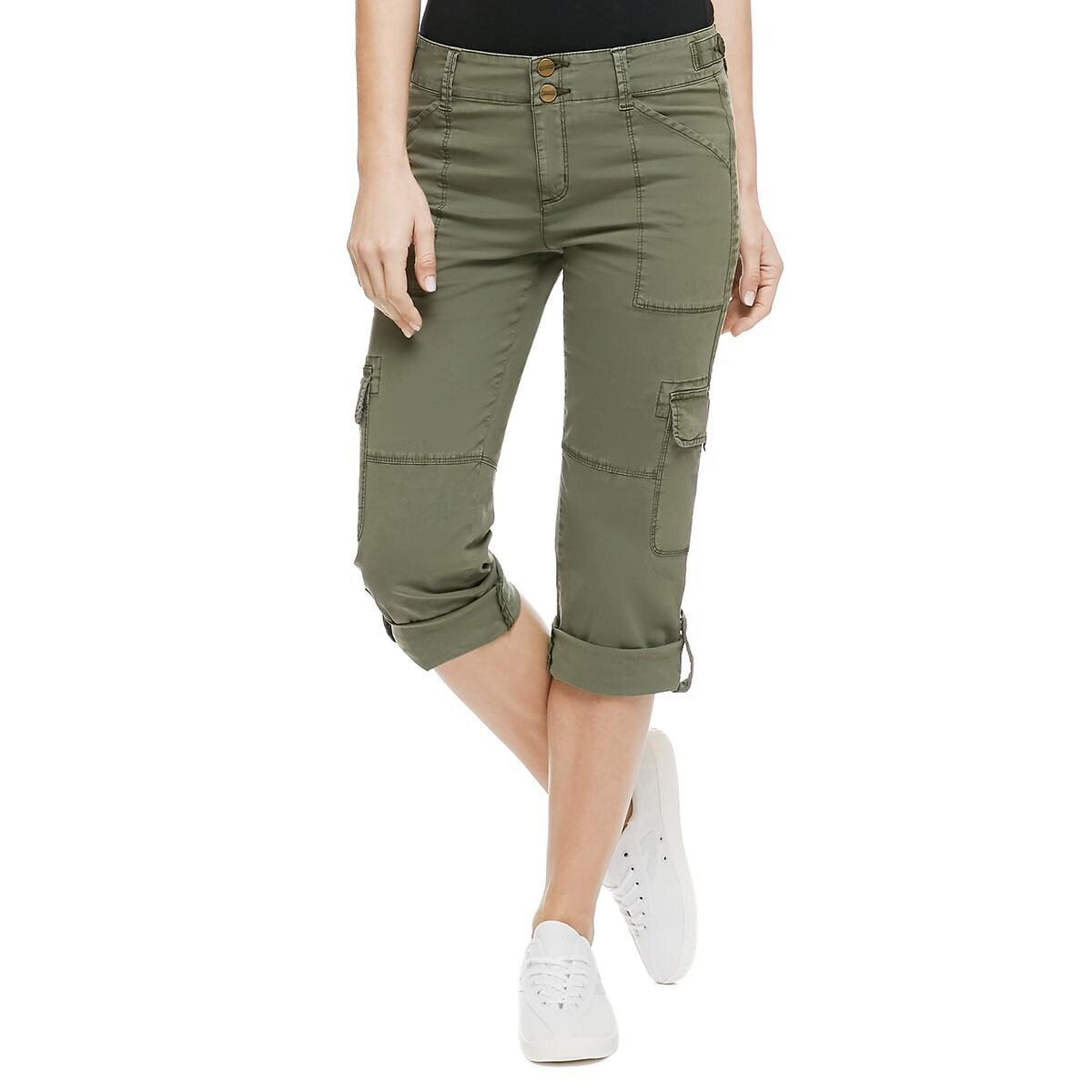 40b901512598a Shop Sanctuary Womens Cargo Pants Crop Pockets - Free Shipping On Orders  Over  45 - Overstock - 15033947