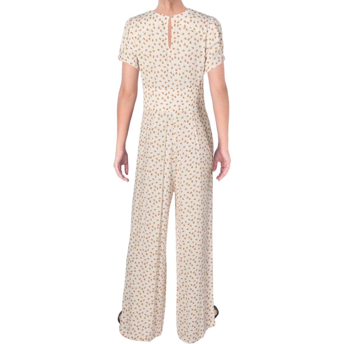 aaa57572f266 Shop Free People Womens Mia Jumpsuit Empire Waist Wide Leg - On Sale - Free  Shipping On Orders Over  45 - Overstock - 25594078