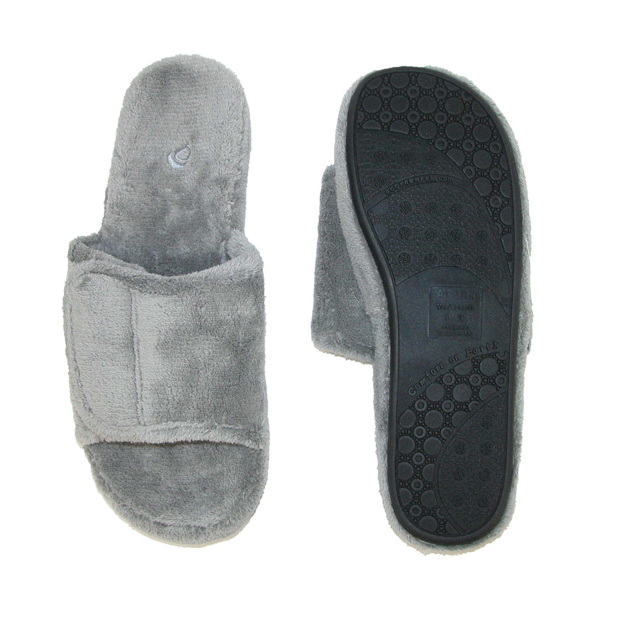 157e241aca8 Shop Acorn Men s Spa Slide Slippers - Free Shipping On Orders Over  45 -  Overstock - 14345099