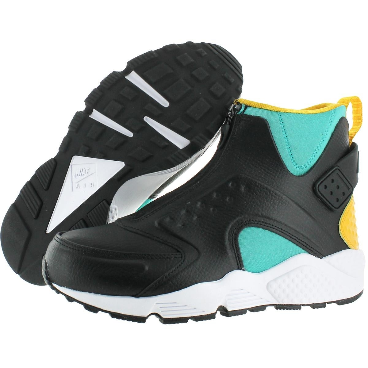 0787ddc16a15b Shop Nike Womens Air Huarache Run Mid High Top Sneakers Training Embossed -  Free Shipping Today - Overstock - 21942758