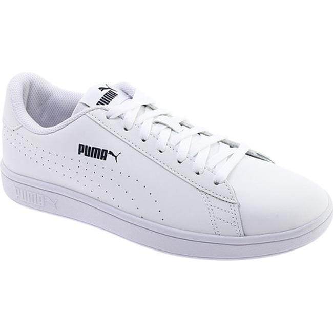 d85d330c3a6 PUMA Men s Smash V2 Perforated Leather Sneaker PUMA White PUMA White