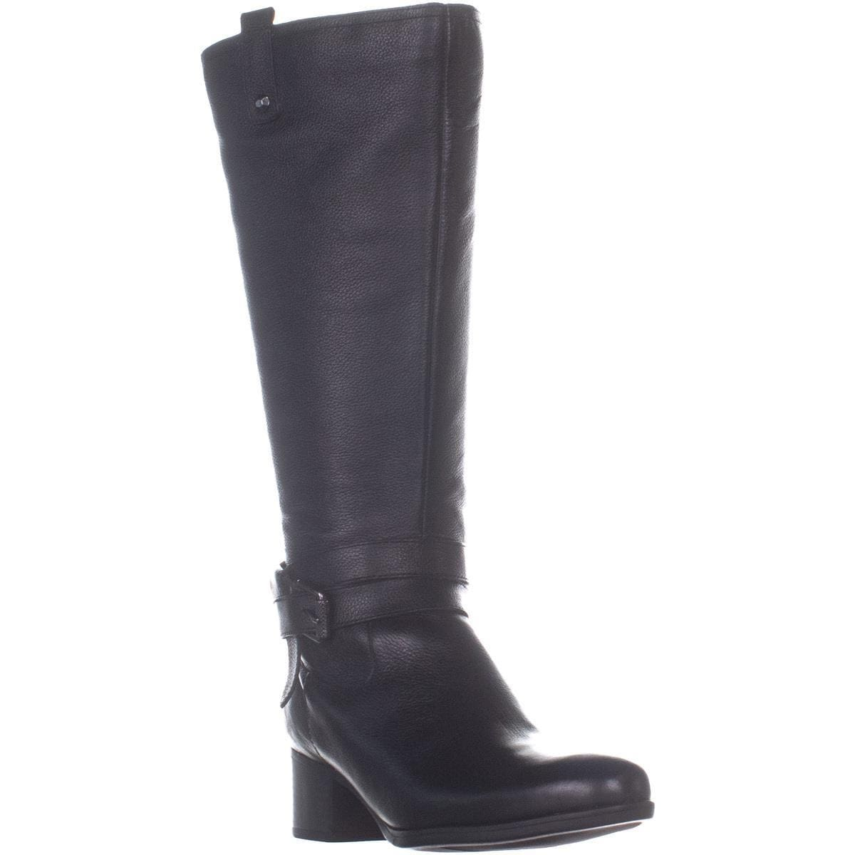e9f7316d2b13 Shop naturalizer Kim Wide Calf Belted Ankle Knee High Botos
