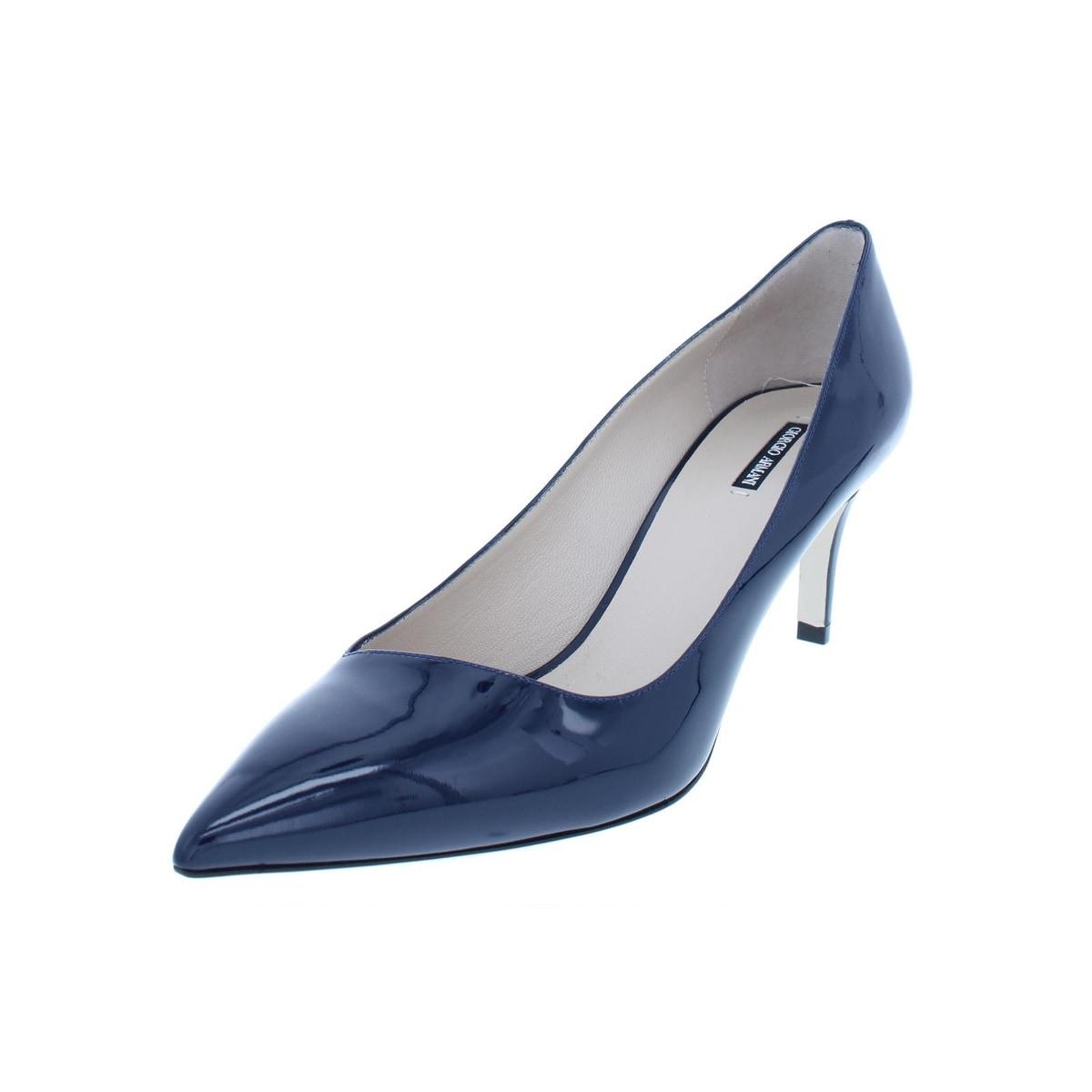 344a54e86fd3 Giorgio armani womens vernice pointed toe heels patent leather evening jpg  1200x1200 Armani heels