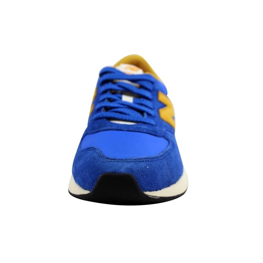 Shop New Balance Men's 420 Re Engineered Suede BlueGold