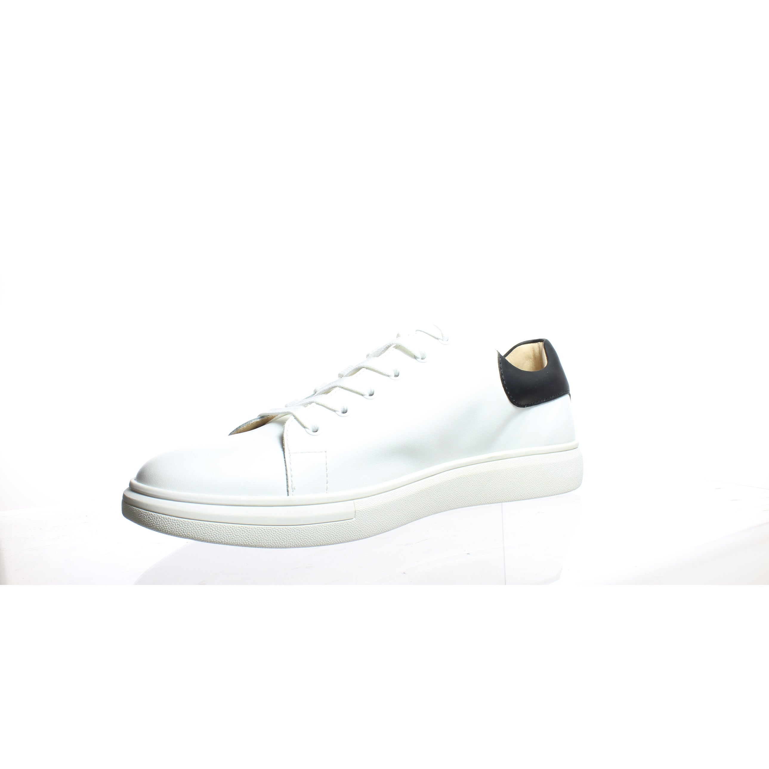 ee24d92caf33 Shop Sam Edelman Mens Jimmy White Fashion Sneaker Size 11.5 - Free Shipping  Today - Overstock - 27414786