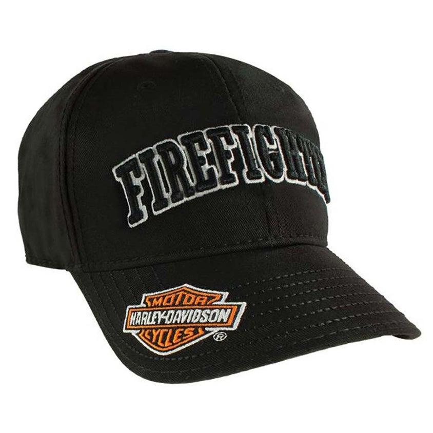 8d102bec778dc Shop Harley-Davidson Firefighter 3D Black Baseball Cap