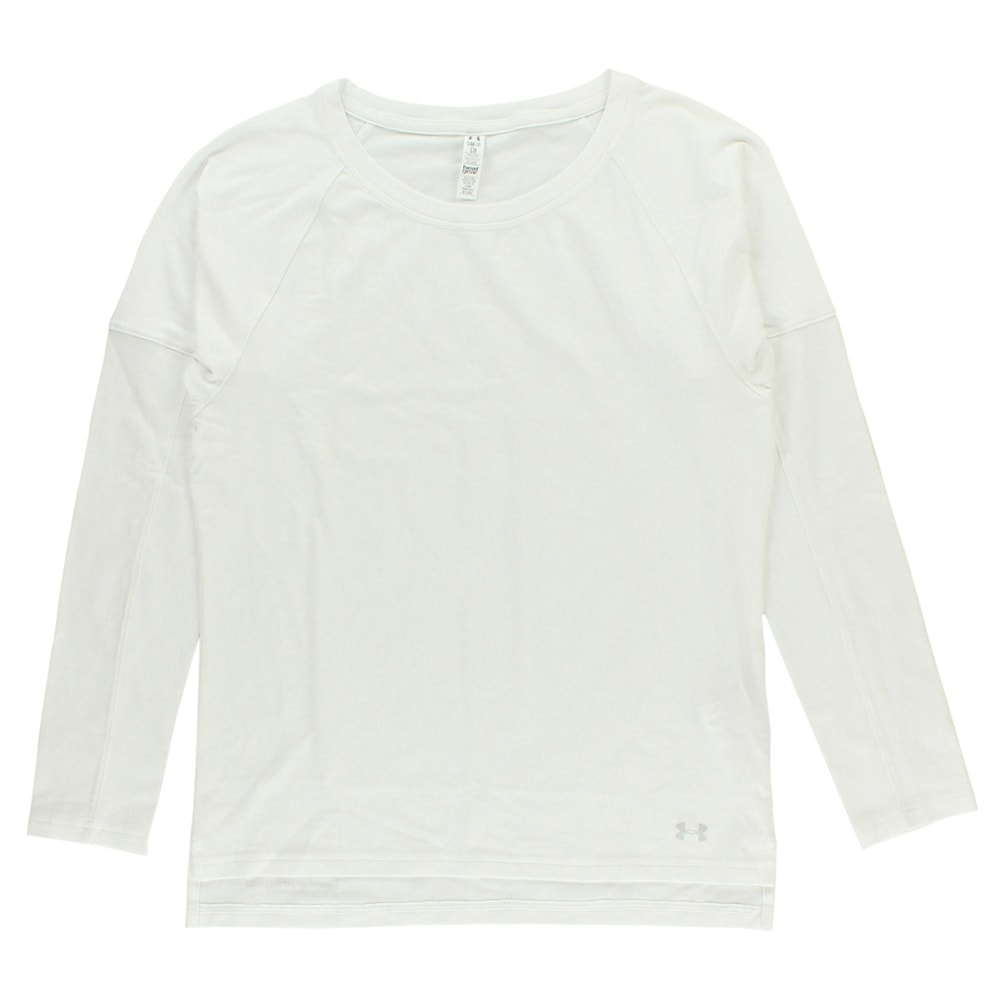check out e0197 43a9e Shop Under Armour Womens Rest Day Long Sleeve T Shirt White - On Sale -  Free Shipping On Orders Over  45 - Overstock.com - 22642101