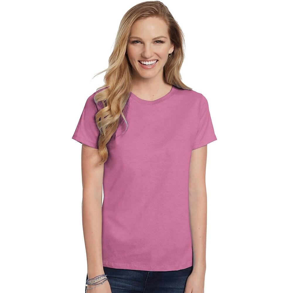 2c5108ddb786 Ladies Hanes Comfortsoft Crew Neck T Shirt Sizing - Nils Stucki ...