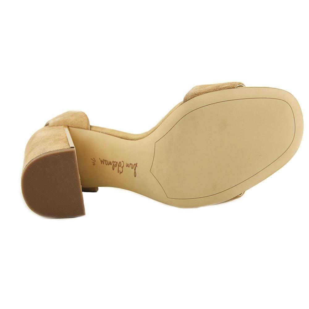 bca727970d34 Shop Sam Edelman Synthia Women Open Toe Suede Tan Sandals - Free Shipping  Today - Overstock.com - 20061298