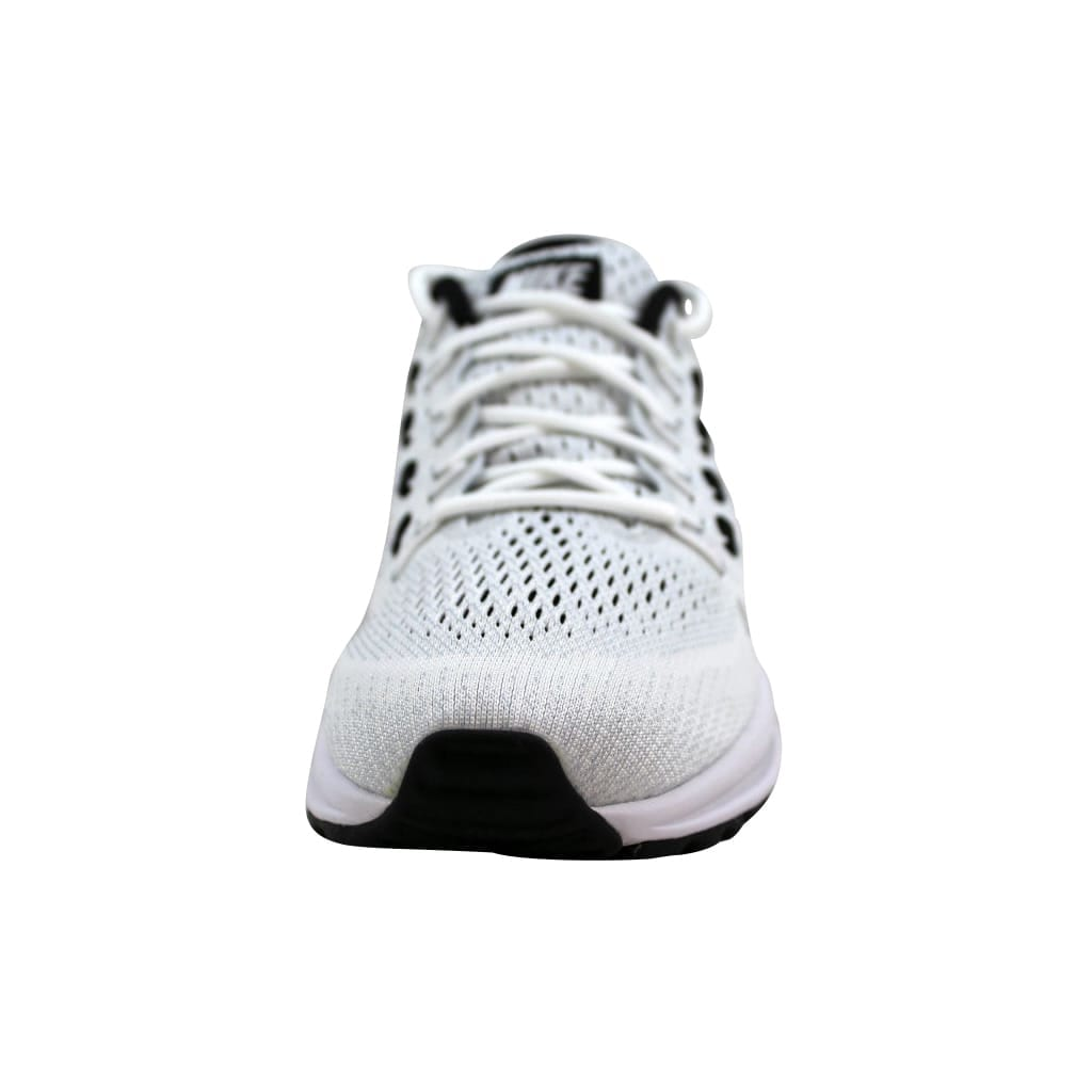 a22d63bb8d7a Shop Nike Women s Air Zoom Vomero 12 White Black-Pure Platinum 863766-100 -  Free Shipping Today - Overstock - 23436981