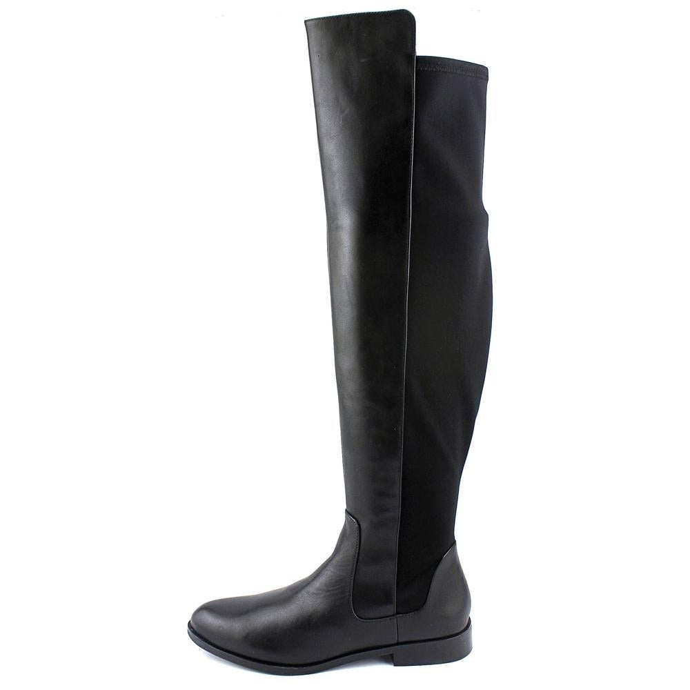 75bf7ff26e1 Shop Clarks Narrative Bizzy Girl Women Round Toe Leather Black Over the Knee  Boot - Free Shipping Today - Overstock - 14518946