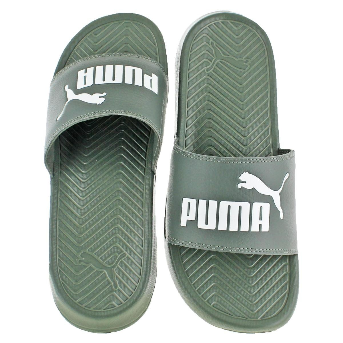 84d8a6cc067 Shop Puma Mens Popcat Slide Sandals Lightweight Pool Slide - Free ...