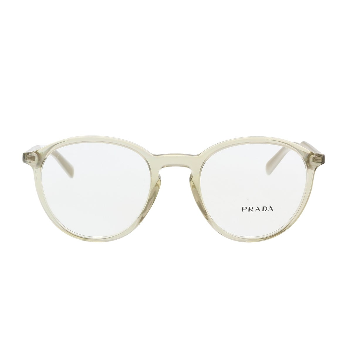 84ccc54eeb82 Shop Prada PR 13TV VAW1O1 Taupe Round Optical Frames - 49-20-140 - Free  Shipping Today - Overstock - 19547163